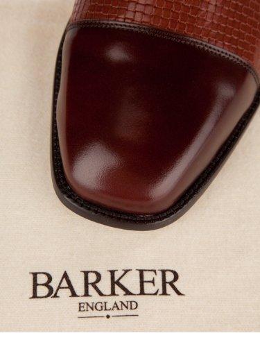 BARKER , Chaussures de ville à lacets pour homme Marron Marron 42