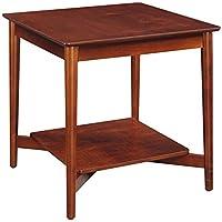 Convenience Concepts Savannah Collection End Table, Mahogany