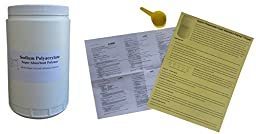 Sodium Polyacrylate Super Absorbent Polymer 1 LB w/ Scoop, MSDS Sheet, Teaching Tips & Experiment Guide