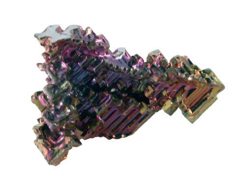 비스무트 크리스탈 .75-1.25 인치 정보 카드/Bismuth Crystal .75..