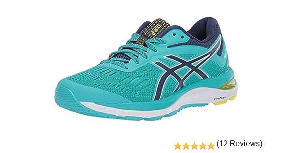 ASICS Gel-Cumulus 20 - Zapatillas de correr para mujer, Azul (Cristal de mar/Azul índigo), 38 EU: Amazon.es: Zapatos y complementos