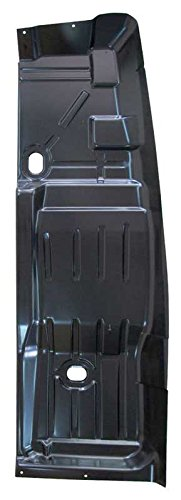 68-74 Nova Floor Pan Half - LH (to front of back seat, includes toe board)