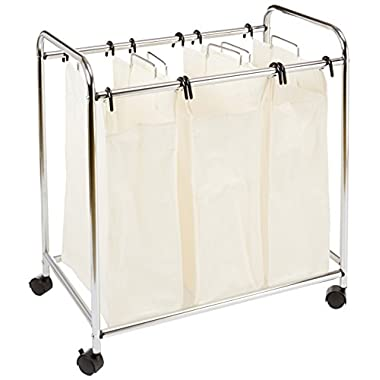 AmazonBasics 3 Bag Laundry Sorter