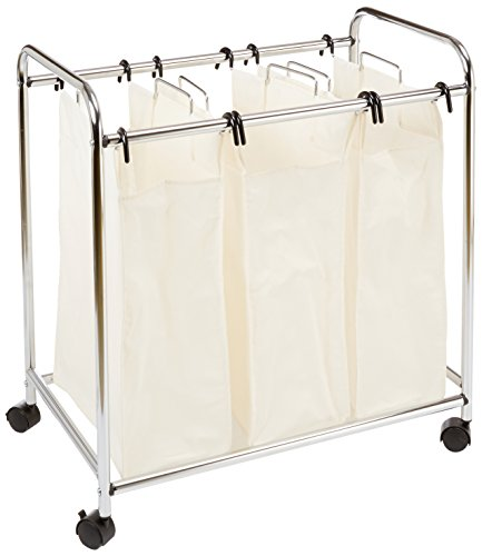 AmazonBasics 3-Bag Laundry Sorter