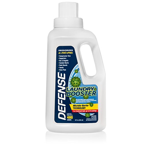 Defense Soap Laundry Booster Fabric Shield 32oz - Use with Detergent to Prevent Odor and Staining (The Best Soap To Use)