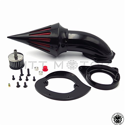 Cleaner Air Classic Kit (Spike Air Cleaner Kits Filter For Kawasaki Vulcan 800 Classic 1995-2012 Black)