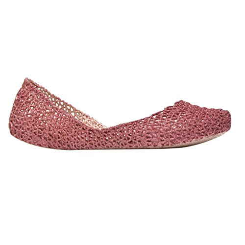 MELISSA CAMPANA PAPEL VII AD 31512 scarpa donna 52829 PINK GLITTER/ROSA MADE IN BRAZIL
