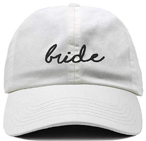 H-214-BRIDE09 Dad Hat Unconstructed Low Profile Bridal Baseball Cap - Bride