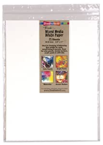 Stampendous White Mixed Media Paper