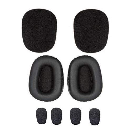 Blueparrott B450-xt Cushion Kit - Includes Foam and Leatherette Replacement Earcushions, Bonus Foam Windscreens, VXI-204019-B