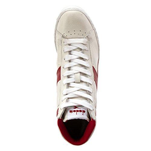 Red Game Unisex White L High Waxed Adult Diadora Pepper ESqR0q