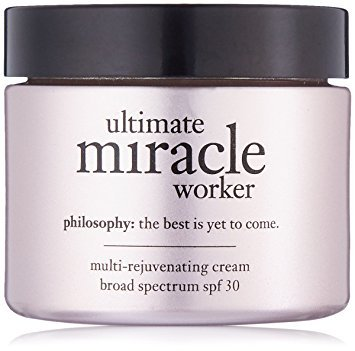Price comparison product image Philosophy Ultimate Miracle Worker Multi-Rejuvenating Cream for Women, Broad Spectrum SPF 30, 0.5 Ounce