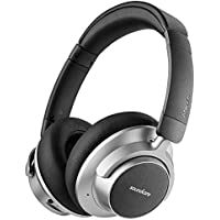 Anker Soundcore Space NC Wireless Noise Cancelling Headphones with Touch Control, 20-Hour Playtime, Foldable Design for Travel, Work, and Home A3021HF1 - Dark Grey