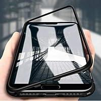 Cupcase® Samsung Galaxy S7 Edge Kişiye Özel İsimli Kılıf+ Mıknatıslı Kapak Ön Arka 360° Full Koruma Siyah