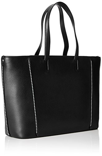 HUGO Noir Black Shopper Stud Mayfair Cabas CxqUZ74