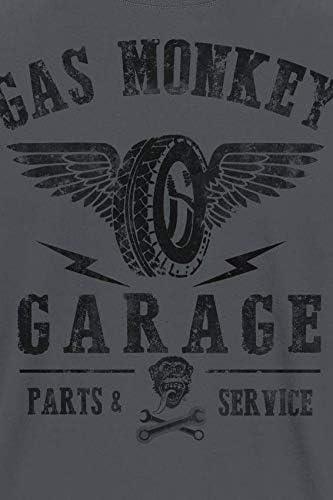 Gas Monkey Garage Herren GMG Tyres Parts Service T-Shirt