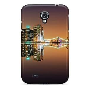 Hot Design Premium CtCCh2965JfgNu Tpu Case Cover Galaxy S4 Protection Case(city Reflection)