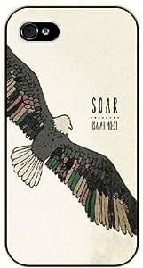 diy phone caseSoar - Vintage eagle art - Isaiah 40:31 - Bible verse iphone 5/5s black plastic case / Christian Versesdiy phone case