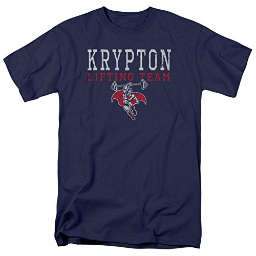 Trevco Superman - Krypton Lifting Team T-Shirt Size 4XL