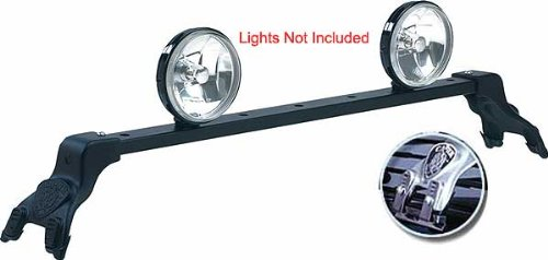 Light Bar Deluxe For - Ford - Bronco - 1981-1996 - Black (Bronco Accessories Truck)