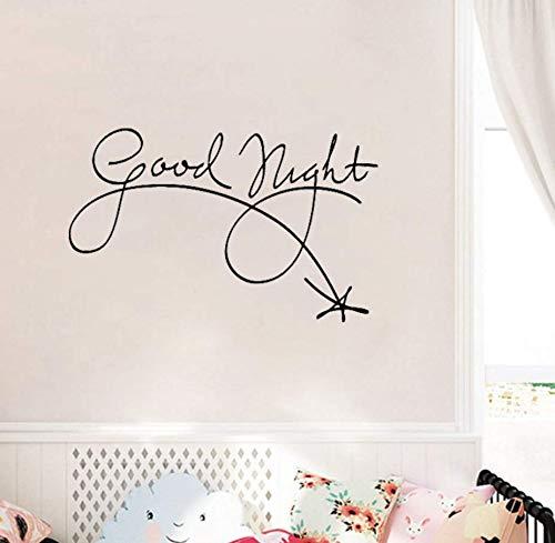 yynight Good Night Words Shooting Star Sleep