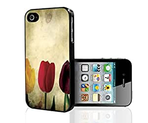 Colroful Tulips Hard Snap on Phone Case (iPhone 5/5s)