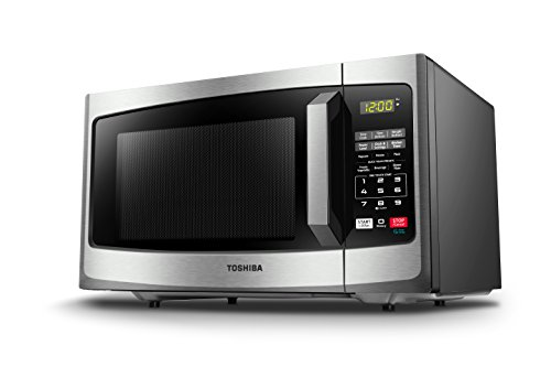 Toshiba EM925A5A-SS Microwave Oven with Sound on/Off Eco Mode and LED Lighting, 0.9 cu. ft, Stainless Steel by Toshiba (Image #4)