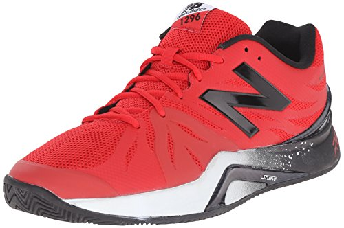 New Balance Men's 1296v2 Tennis Shoe Red/black