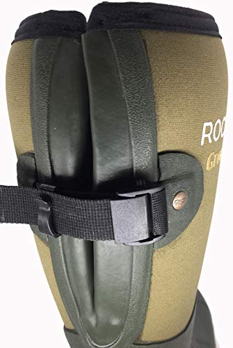 Uk Boot Rubber Foot reflective For Bed Lined Gusset Neoprene Free Rockfish Award 5 Wellingtons Winning Retro Men's Rear Natural 5mm 3m Delivery Adjustable Shock Size Warmth 13 Absorbent RYqwxT