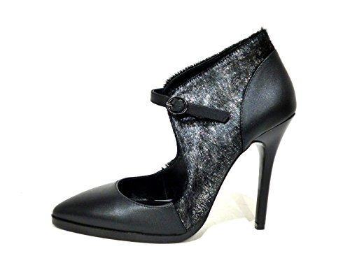 CAFèNOIR MC135-002 nero argento - Zapatos de vestir para mujer Negro negro