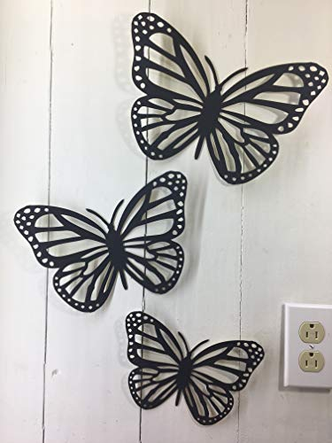 (Tak n Stik 3 LG Butterflies This is not a Decal Paintable Wall Quotes Sayings for Family Home College Dorm Removable Reusable Art Wall Décor Great Gift )