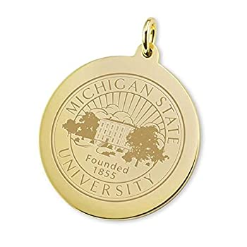 Image of Charms M. LaHart NCAA Womens Gold Jewelry