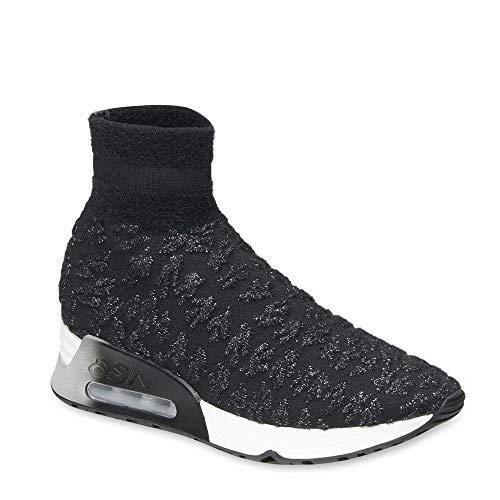 Color Plateado Footwear De Y plateado Negro Zapatillas Ash 38 Lullaby Mujer Negro gp4aTY