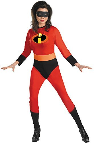 Disguise Limited womens Adult Mrs. Incredible Costume Medium - The Incredibles Costume Lady