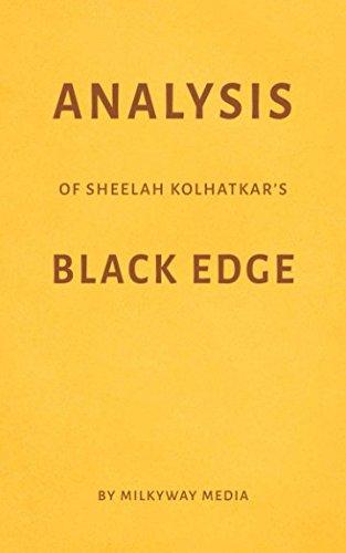 Analysis of Sheelah Kolhatkar's Black Edge by Milkyway Media