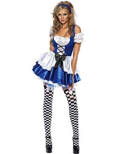 Fever Women's Alice Costume (Mad Alice Costume)
