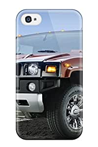 John B Coles's Shop Shock-dirt Proof 2009 Hummer H2 Sedona Metallic Black Chrome Case Cover For Iphone 4/4s
