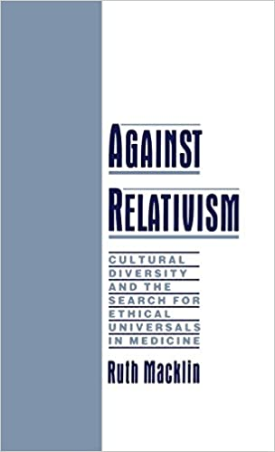 a defense of ethical relativism