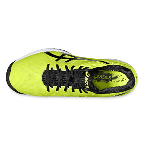 ASICS GEL SOLUTION SPEED 3 CLAY Jaune NOIR E601N 0790