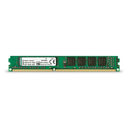Kingston Technology 4GB 1333 MHz 240-Pin DDR3 SDRAM Memory  Module (KVR13N9S8/4) ()