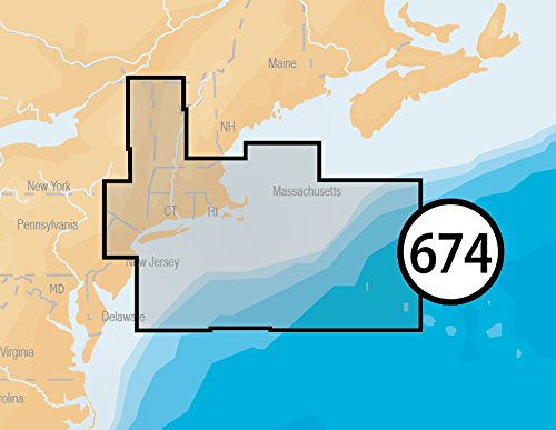 Navionics Platinum Plus 674P+ Boston to New York Marine Charts on SD/MSD by Navionics (Image #4)
