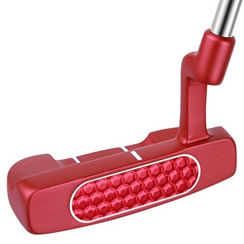 Bionik Golf RL Series 105 Red Mid-Mallet Putter, 35