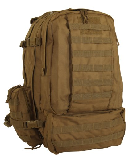 Voodoo Tactical Tobago Cargo Pack / Backpack – Hydration Compatible – Coyote Brown / Tan – 15-7866, Outdoor Stuffs
