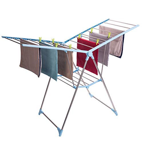 Drynatural Foldable Drying Rack Extra Large Collapsible Laun