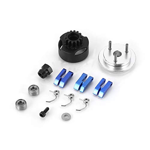 Clutch Bell HPI 14T Gear Assembly Clutch Flywheel Springs Cone And Motor - Clutch Product Bell
