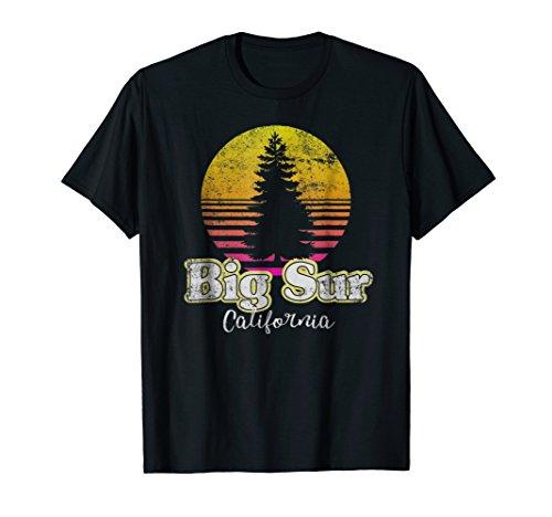 Vintage Big Sur T Shirt | Retro Distressed Style Big Sur ()