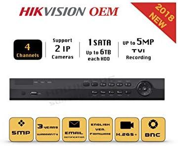 Amazon com : HD TVI 5MP 4CH DVR - Surveillance Digital Video