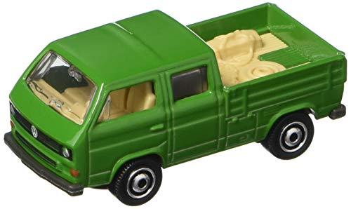 Transporter Cars Volkswagen - Matchbox 2017 Volkswagen Transporter Cab 95/125, Green (Tools in Bed of Truck)