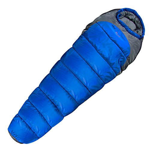 Highlander Outdoor Echo 400 Sleeping Bag, Deep Blue by Highlander Outdoor