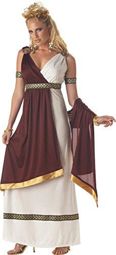 UHC Women's Historic Roman Empress Theme Party Halloween Dress, XL (12-14) (Roman Empress Plus Size Costume)